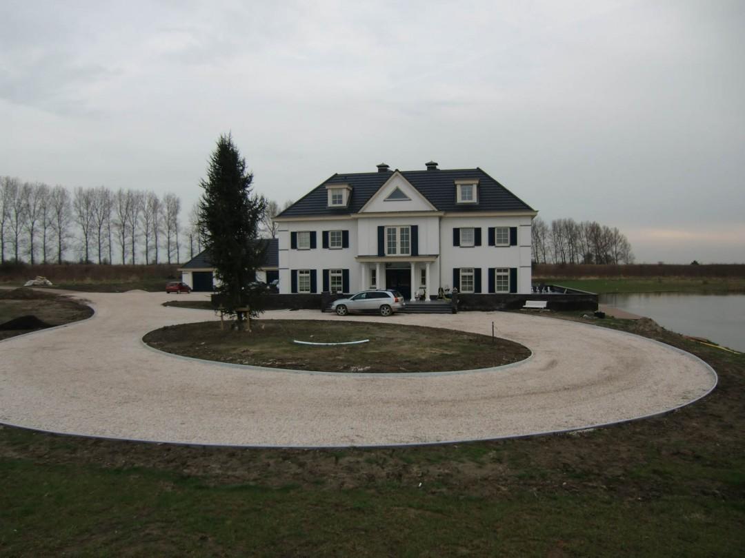 Nieuwbouw Landhuis – Tholen