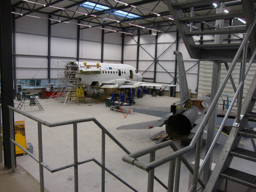 Nieuwbouw World Class Aviation Academy – Hoogerheide