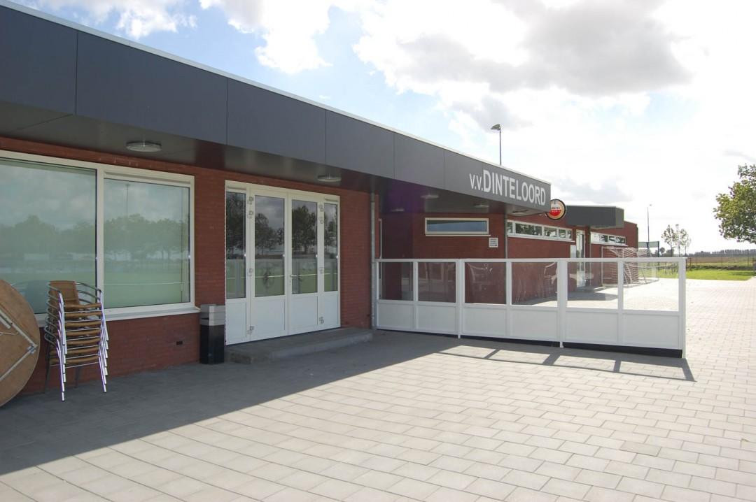 Sportkantine/kleedruimte Sportcomplex – Dinteloord