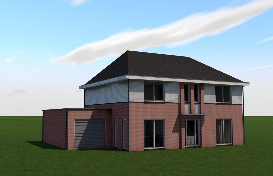 Nieuwbouw woning Kavel 38 Plan de Hoef – Op den Duyn 19, Hoogerheide