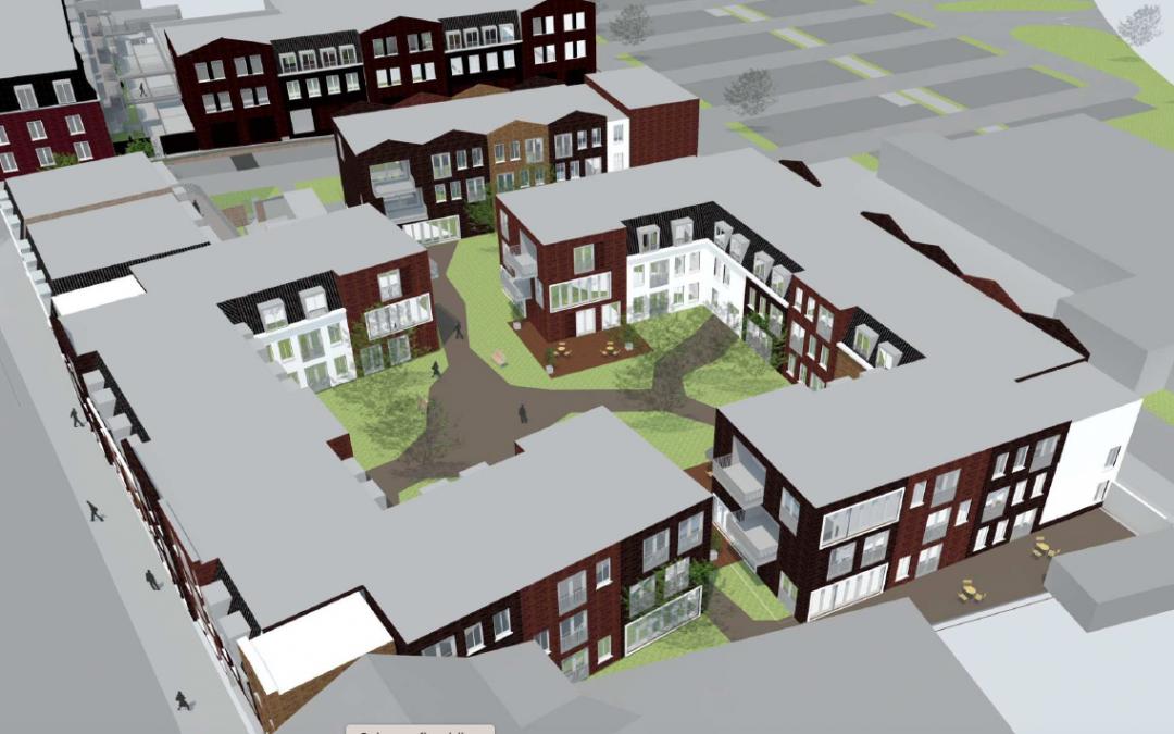 Plan voor 112 zorgwoningen in Hoogerheide