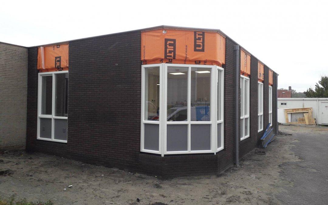 Verbouwing kantoor Woningstichting Woensdrecht