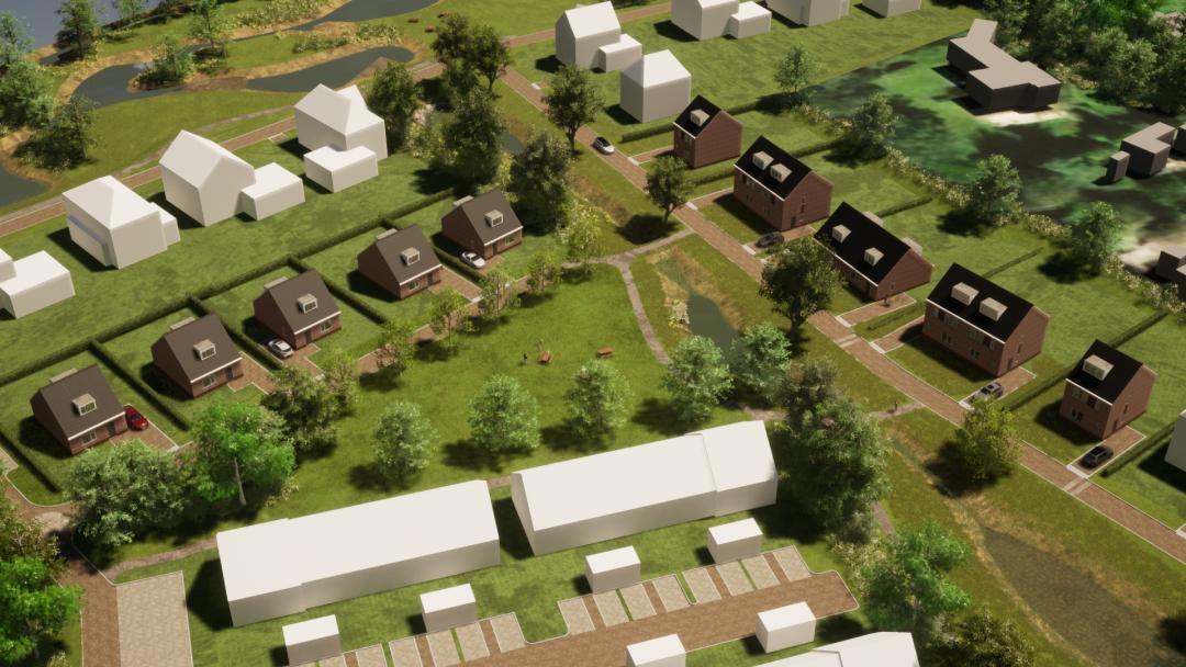 Nieuwbouw woningen Noordrand Ossendrecht