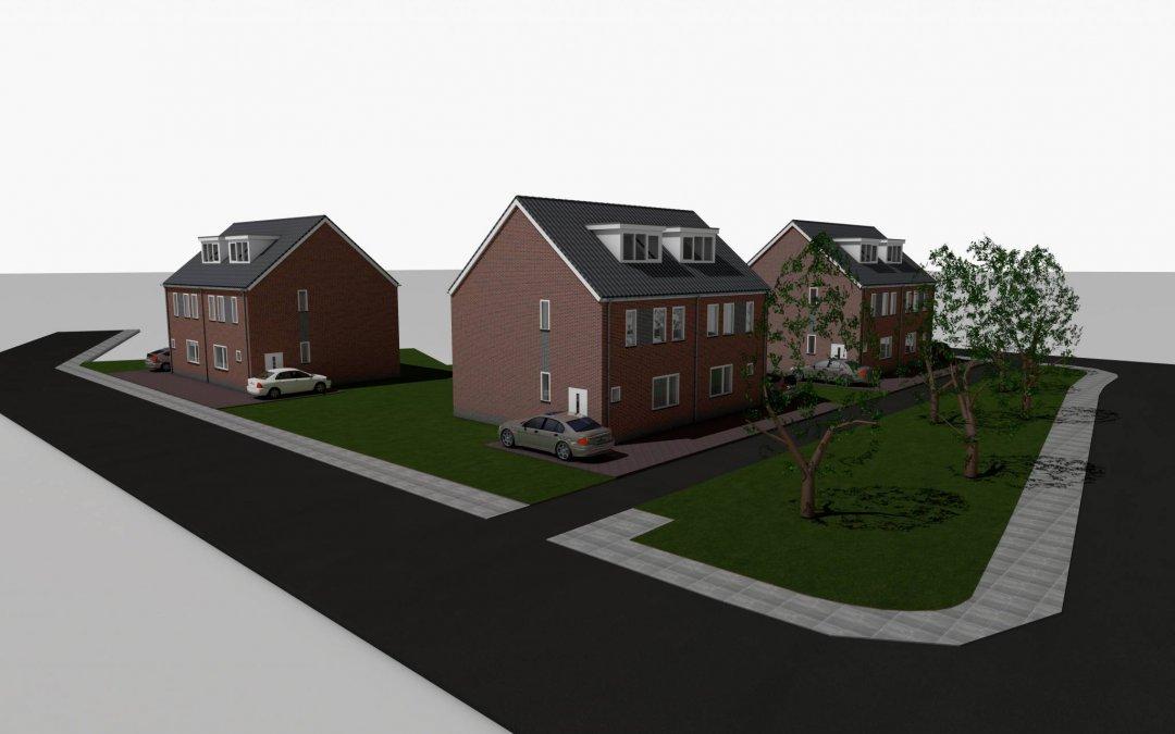 Nieuwbouw woningen St. Maartensdijk