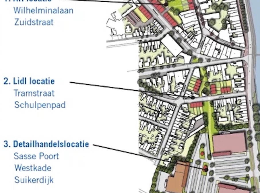 Ontwikkeling Sasse Poort Sas van Gent